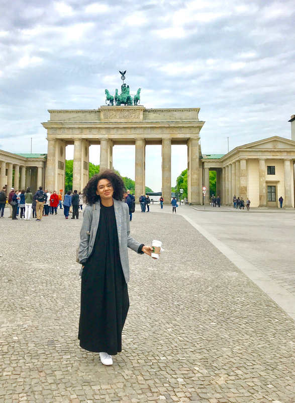 travel in style, berlin, brandenburg gate, wanderlust, bag lady style, Germany, maxi dress