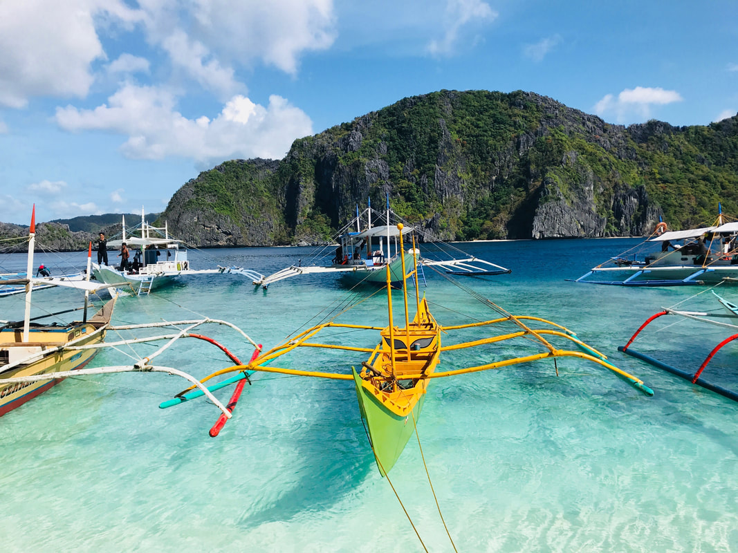El Nido island hopping, Tour C, Philippines. Travel with BagLady Basics